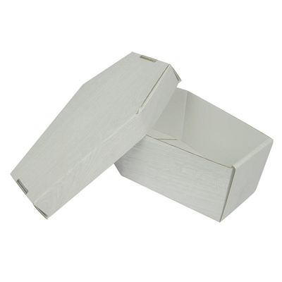 Burial Package Basic White Wood