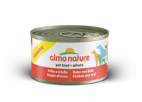 Almo Nature Classic Adult Dog Can - with Chicken & Veal 95g x 24