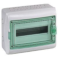 Schneider Kaedra 18 MOD 1 Row  IP65 Weatherproof Enclosure 13432