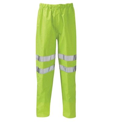 Fuji Flame Retardant Anti Static Hi-Visibility Trousers Yellow