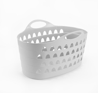 60L Flexi Basket White