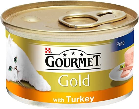 Gourmet Gold Pate with Turkey Cat Food 12 x 85g