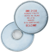 3M 2000 Series Filter Range P3 Particulate Protection + Nuisance Level Organic Vapour & Acid Gas