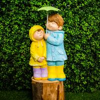 Koop Children with Umbrella - 53cm - Assorted
