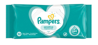 Pampers Sensitive Fragrance Free Baby Wipes 52s