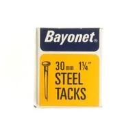 BAYONET DISPLAY BOX BLUED CUT TACK 30 MM 1 1/4''