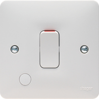 20A 2 Pole Switch+Flex Outlet | LV0301.0587