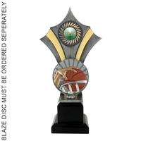 25cm Blaze Trophy (Ant Silver)
