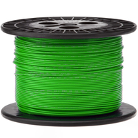 Electronic Wire Tinned Copper 1000Meters Spool Green