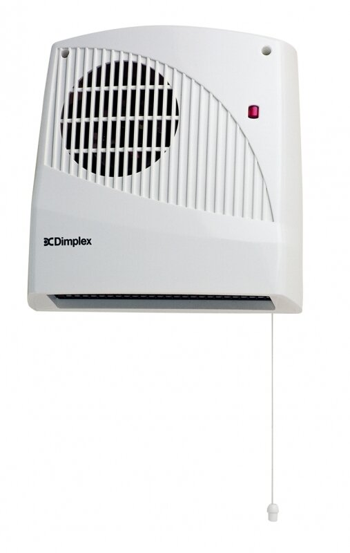 DIMPLEX DOWNFLOW FAN HEATER WITH TIMER