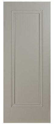 Prague 1 Panel Silk Grey Premium Primed 2032x864mm (80x34 inch)