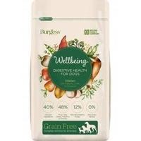 Burgess Wellbeing Adult DOG Grain Free Chicken Digestive Health 1.5kg x 1