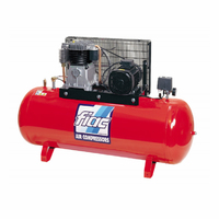 FIAC 5.5HP 270 Litre Belt Driven Air Compressor 3-PHASE