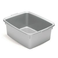 Addis 5 Star Rectangular Bowl Metallic Silver