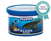 King British Algae Wafers 40g x 6