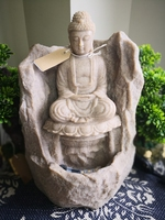 LED Buddha Water Feature 45cm