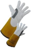 Premium Goat Skin Lined TIG Welding Glove 15cm Cuff