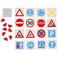 Memo Game Traffic Signs