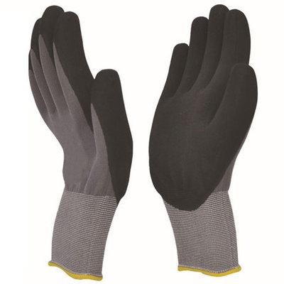 Nuflex Black Nitrile Foam Coated Glove