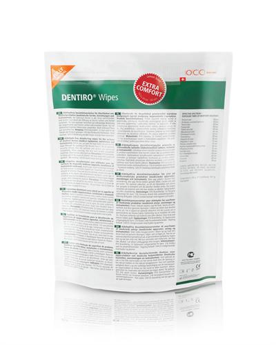 OCC Dentiro Wipes Refill Regular 120pk Refill