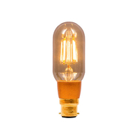 Bell 4W LED BC Vintage Tubular Amber