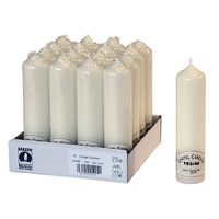 165mm (6.5'') Chapel Candle Ivory 40mm Dia - 165/40