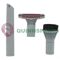 Compatible 32mm Vacuum Accessory Kit ( Stair Tool, Round Dusting Brush & Crevice Tool )