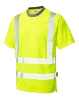 Leo LARKSTONE ISO 20471 Cl 2 Coolviz Plus T-Shirt
