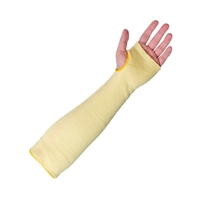 "Supertouch Kevlar Knit Sleeve - 14"" Open, Yellow"