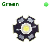 TKL-HP1G | POWER LED 1 WATT GREEN - WITH DISSIPATOR