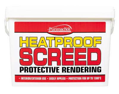 Everbuild Heat Proof Screed 20kg Tub