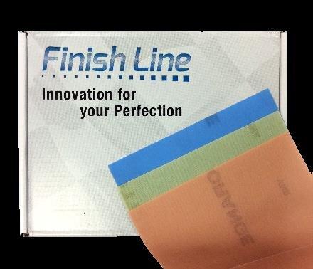 FinishFlex Sheets 130mm x 170mm Yellow G800