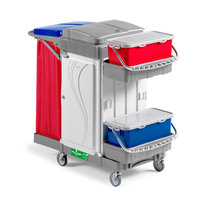 LOCKABLE HEALTHCARE TROLLEY