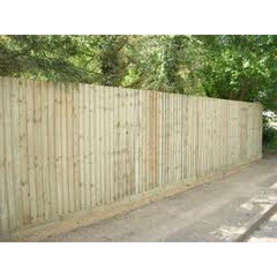 Feather Edge Bay fencing 3m x 1.8m (BAY 2)
