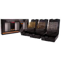 Terrax Twist Drill Sets 3 in 1 Box