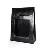 BOX ENV. 170X70X235MM BLACK W/WINDOW