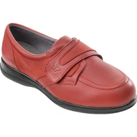 Cosyfeet Red Ladies Shoe (Debbie)