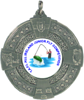 50mm 4 Province Medallion (Antique Silver)