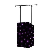 Equinox MICRON DJ Booth Tri LED Starcloth System