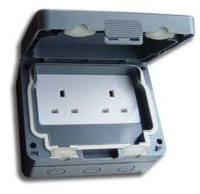 IP66 WATERPROOF TWIN 13A SOCKET