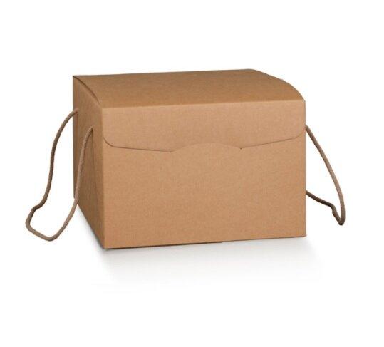 Kraft Giftbox with Rope Handles