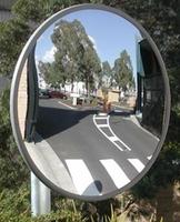 Acrylic Heavy Duty Mirror With Wall Bracket 300mm