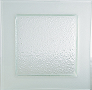 Gobi Plate Square Frosted Edge 260mm Carton of 6