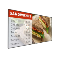 "Philips 49"" Signage Solutions P-Line Display Monitor"