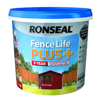 RONSEAL 5 YEAR FENCELIFE PLUS+ RED CEDAR 5 LTR