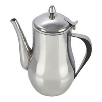 PENDEFORD STAIN.STEEL SPOUTED TEAPOT 35OZ/32OZ