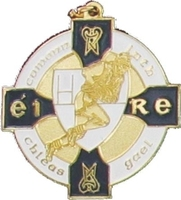 34mm Gaelic Medal - Gold / Navy