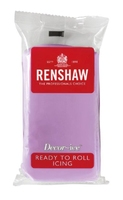 RENSHAW READY TO ROLL ICING DUSKY LAVENDER  (12 x 250g)