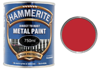 5092824 HM METAL PAINT SMOOTH RED 750ML