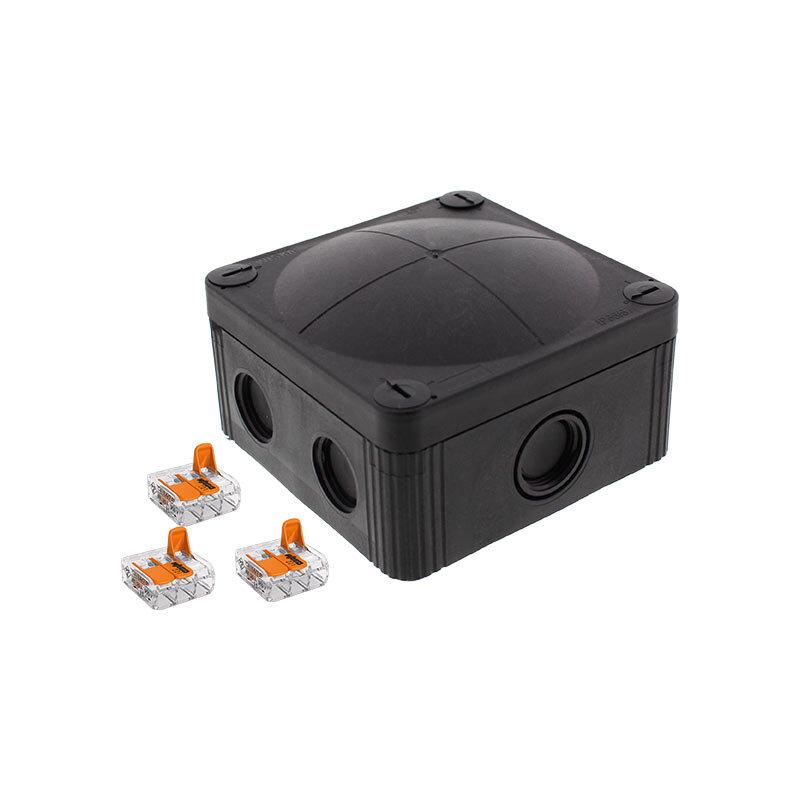 Wiska Combi 407 Junction Box Black 10109673